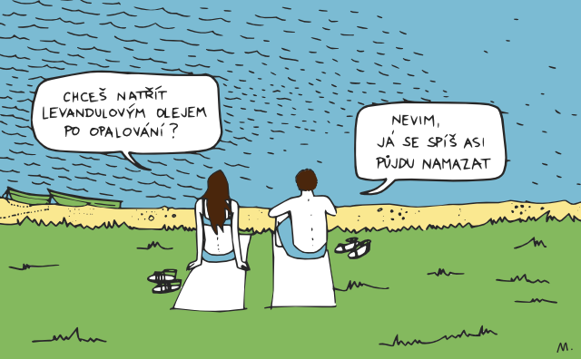 komiks léto
