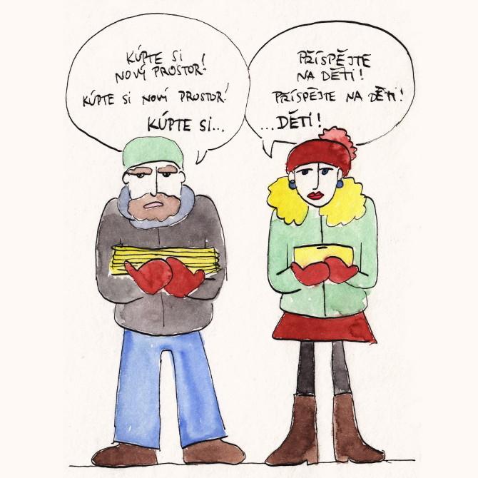 komiks ze života - kupte si...