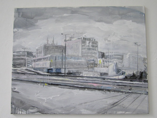 Adéla Lustigová - Město II