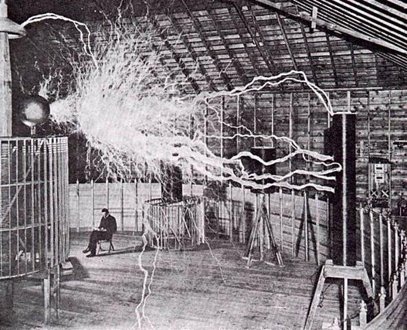 Nikola Tesla - laboratoř Colorado