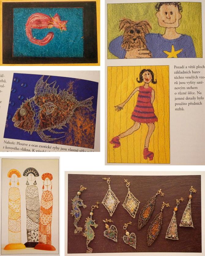 Encyklopedie ručních prací - kresba nití