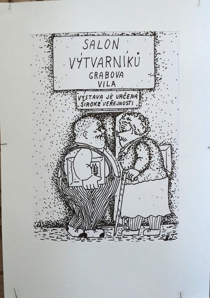 tomanová - salon výtvarníků