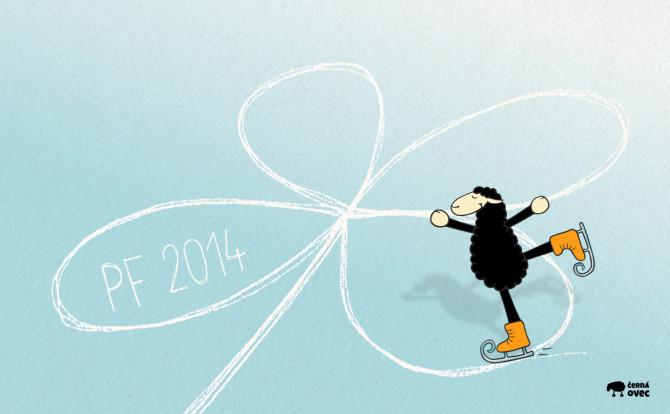 PF 2014 - černá ovec