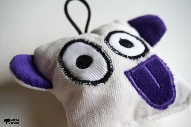 bubulák - malá plyšová hračka handmade
