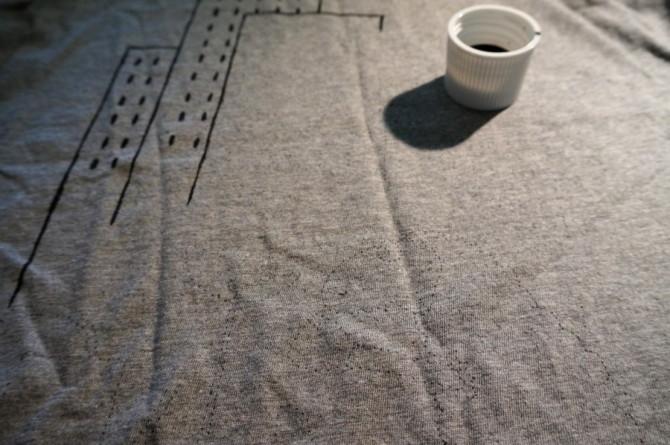 ovec z města - ručně malované tričko