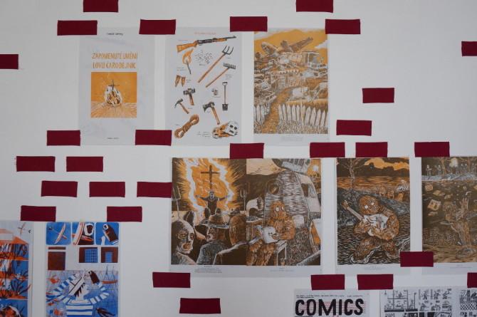 Zapomenuté umění lovu čarodějnic - komiks - ilustrace