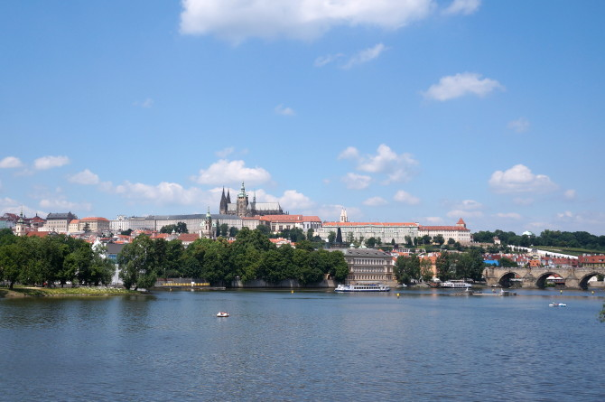 praha - hrad a karlův most
