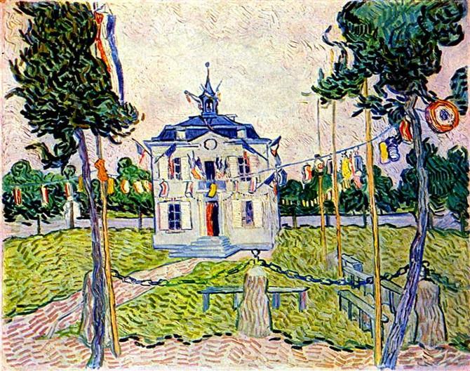 Vincent van Gogh: Radnice v Auvers