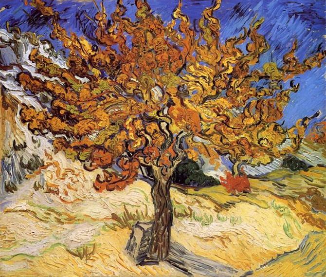 Vincent van Gogh: Morušovník