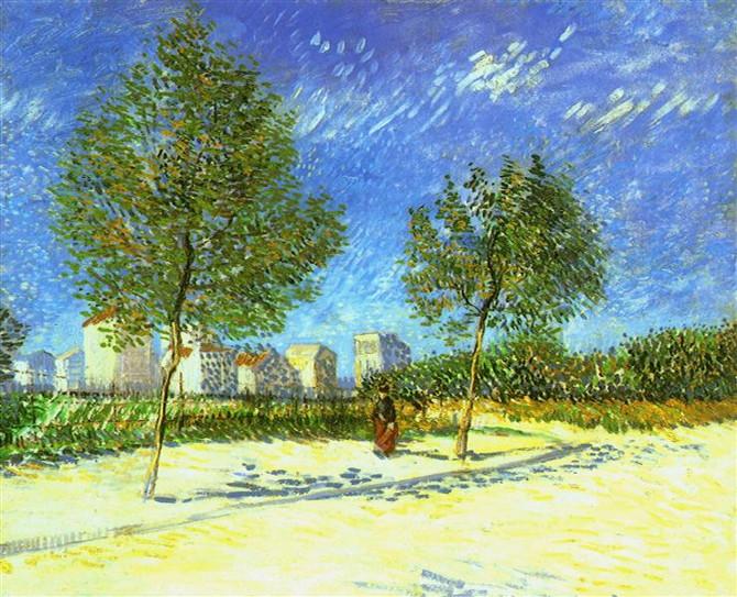 Vincent van Gogh: Na předměstí Paříže