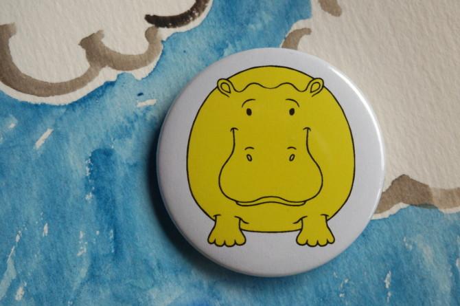 žlutý hroch
