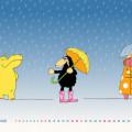 kalendář - wallpaper - ke stažení - listopad