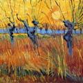 Vincent van Gogh: Vrby při západu slunce