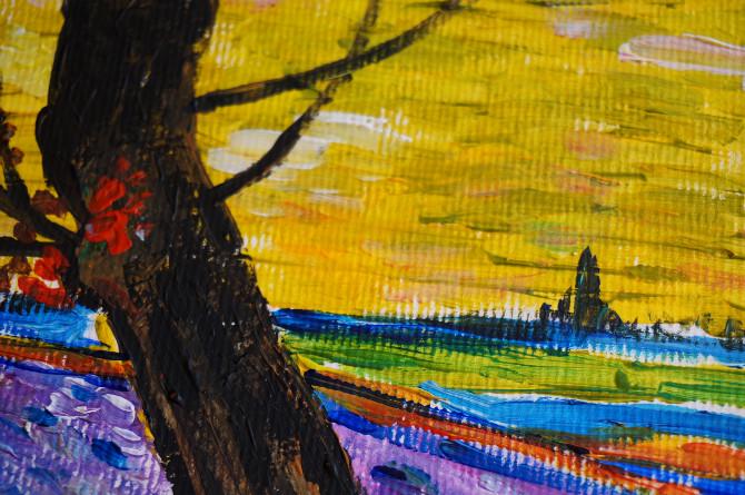 kopie Van Gogha: Rozsévač