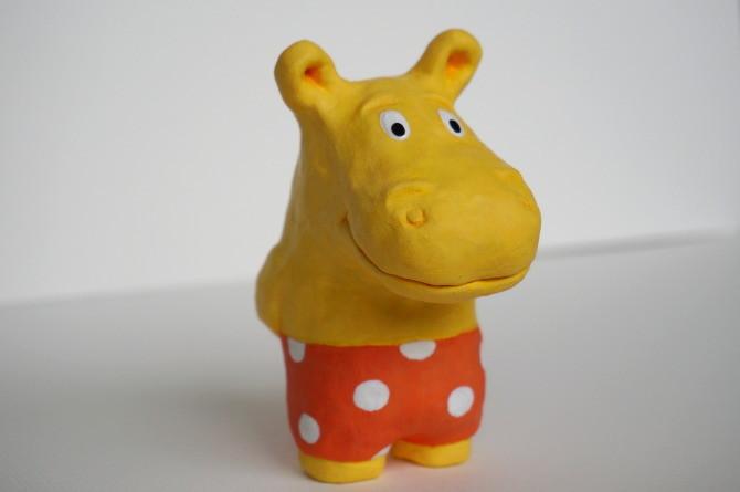 figurka hroch - modurit - hippo