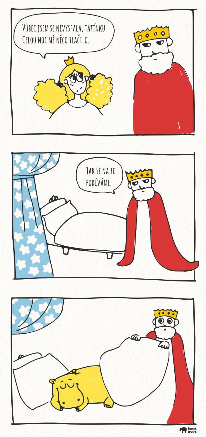 Princezna na hróšku