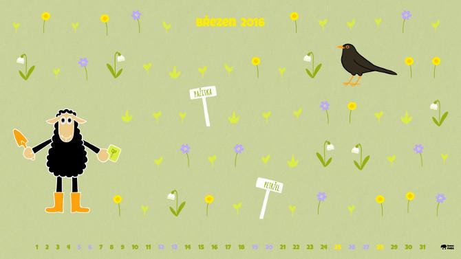wallpaper zahradník / jaro
