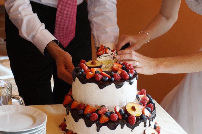 svatba dort