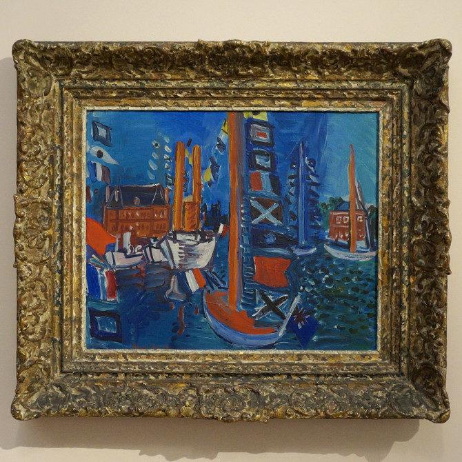 Raoul Dufy: V přístavu
