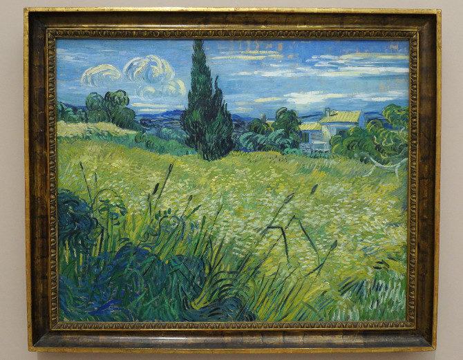 Vincent van Gogh: Zelené obilí
