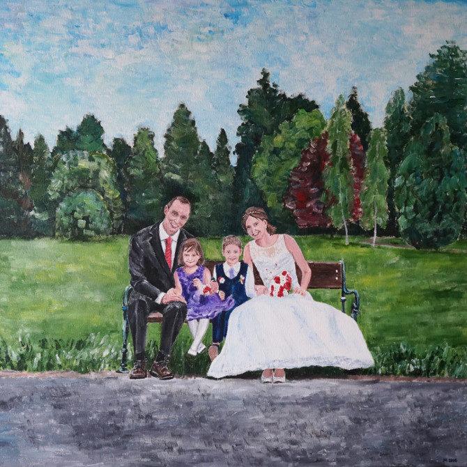obraz svatba