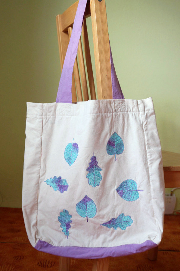 vyšívaná taška