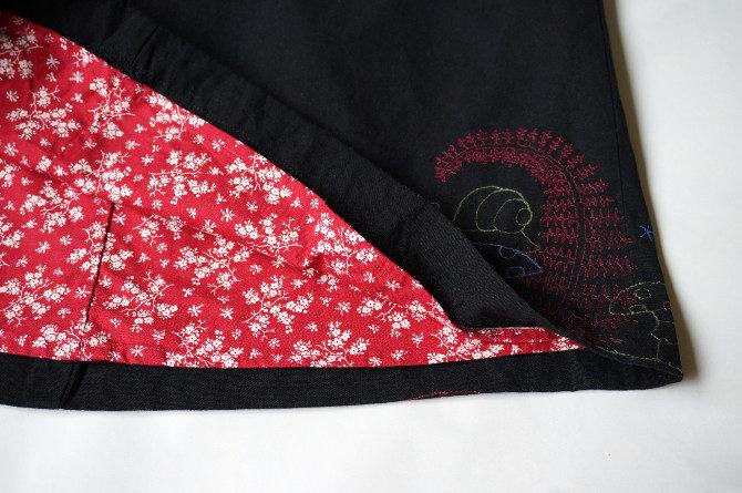 sukně s podšívkou