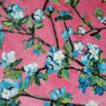 detail obrazu - Kvetoucí strom v růžové