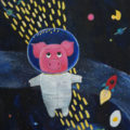 obraz - Kapitán Prasátko opouští Mléčnou dráhu - Captain Piggy is leaving the Milky Way
