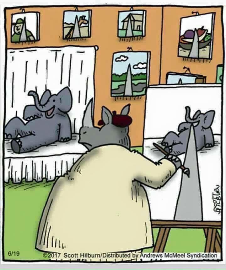 nosorožec malíř