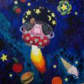 obraz Hróšová a její vesmírná pouť