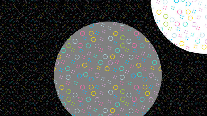patterns circles composition
